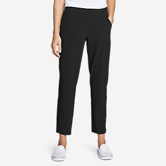 Women's Departure Ankle Pants in Black