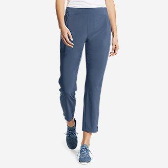 Women's Departure Ankle Pants in Blue