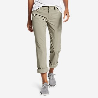 Women's Sightscape Convertible Roll-Up Pants in Beige