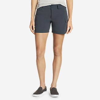 Women's Sightscape Horizon Cargo Shorts in Blue