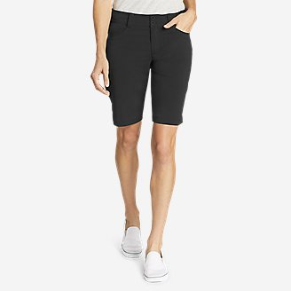 Women's Sightscape Horizon Bermuda Shorts in Black