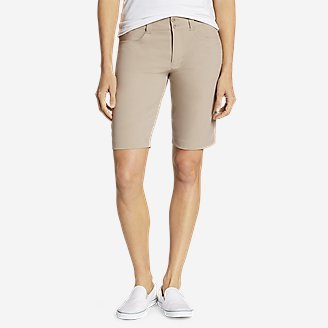 Women's Sightscape Horizon Bermuda Shorts in Beige