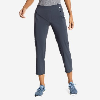 Women's Incline Utility Capris in Blue
