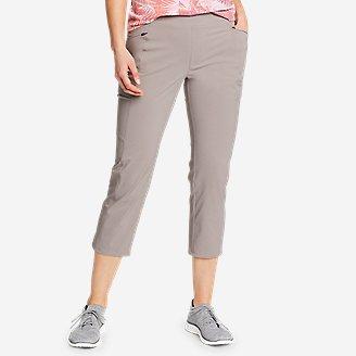Women's Incline Utility Capris in Gray