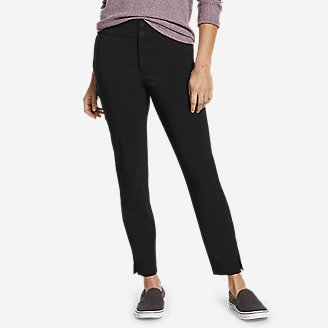 Women's Incline High-Rise Slim Ankle Pants in Black