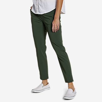 Women's Incline High-Rise Slim Ankle Pants in Green