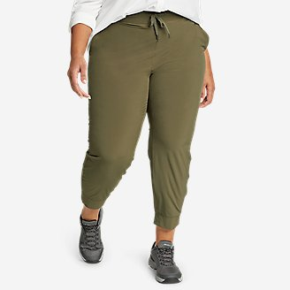 Women's Departure Jogger Pants in Green