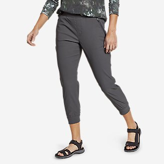Women's Guide Pro Flex Capri Joggers in Gray