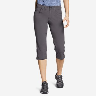 Women's Sightscape Horizon Capris in Gray