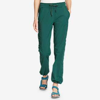 Women's Trail Breeze Pants in Green