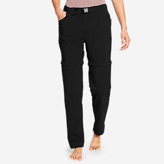 Women's ClimaTrail Zip-Off Pants - Color Block in Black