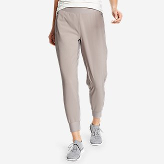 Women's Trail Tight Hybrid Joggers in Gray