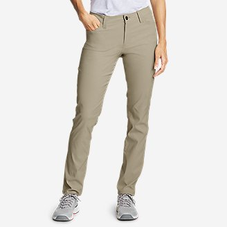 quality and quantity assured huge range of super specials Women's Slim Fit Pants | Eddie Bauer