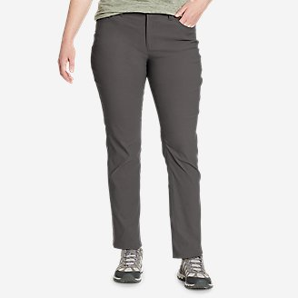 Women's Horizon Guide 5-Pocket Slim Straight Pants in Gray