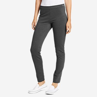 Women's Passenger Ponte Pull-On Skinny Pants in Gray