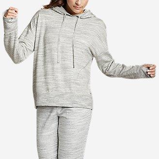 Women's Enliven Ultrasoft Long-Sleeve Hoodie in White