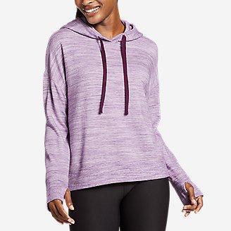Women's Enliven Ultrasoft Long-Sleeve Hoodie in Purple