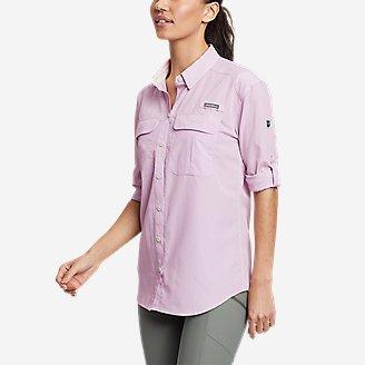 Women's Guide UPF Long-Sleeve Shirt in Purple