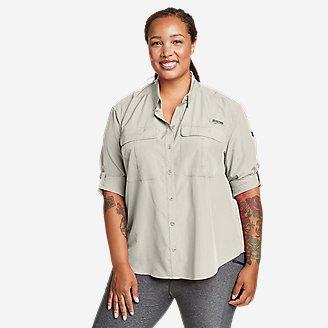 Women's Guide UPF Long-Sleeve Shirt in White