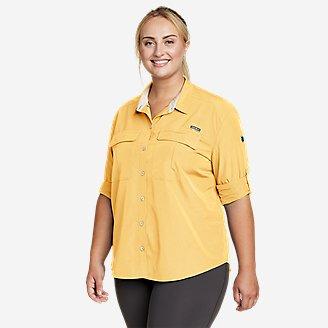 Women's Guide UPF Long-Sleeve Shirt in Yellow