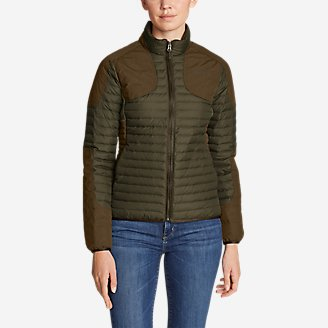 Women's MicroTherm 2.0 Down FIeld Jacket in Green