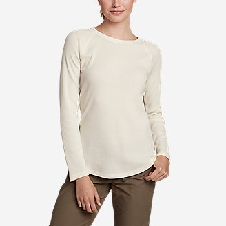 Women's Stine's Favorite Thermal Crew - Solid in White