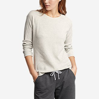 Women's Stine's Favorite Thermal Crew - Solid in Gray