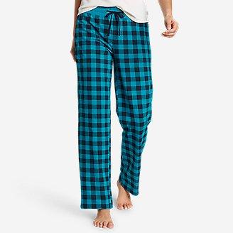 Women's Dreamknit Sleep Pants - Print in Blue