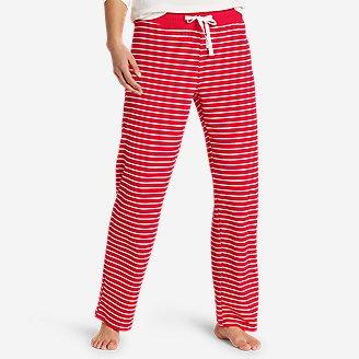 Women's Dreamknit Sleep Pants - Print in Red