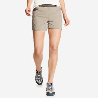 Women's ClimaTrail Shorts - Color Block in Beige