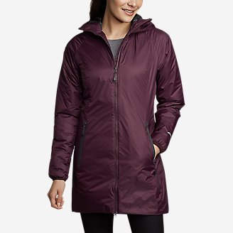 Women's EverTherm Down Parka in Purple