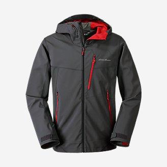 Men's Sandstone Shield Hooded Jacket in Gray