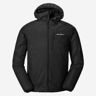 Men's EverTherm 2.0 Down Hooded Jacket in Black
