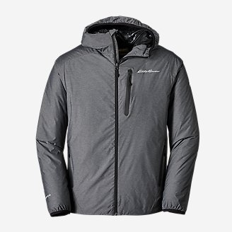 Men's EverTherm 2.0 Down Hooded Jacket in Gray