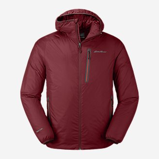 Men's EverTherm 2.0 Down Hooded Jacket in Red