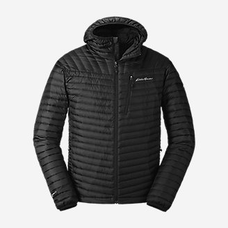 Men's MicroTherm 2.0 Down Hooded Jacket in Black