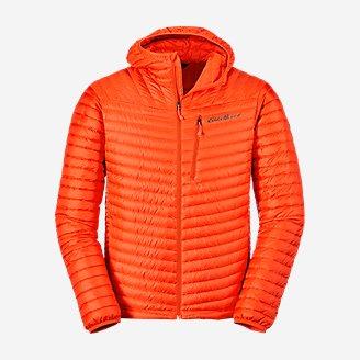 Men's MicroTherm 2.0 Down Hooded Jacket in Orange