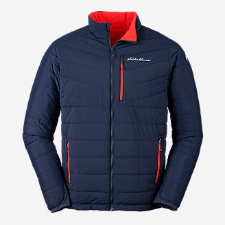 Men's IgniteLite Stretch Reversible Jacket in Blue