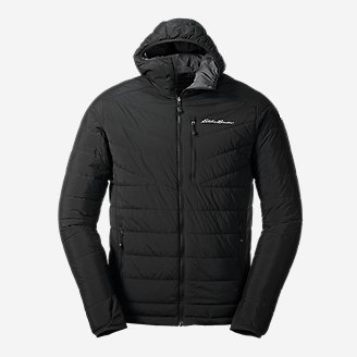 Men's IgniteLite Stretch Reversible Hooded Jacket in Black
