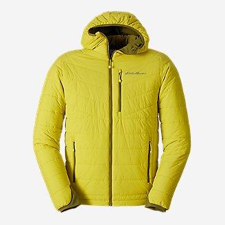 Men's IgniteLite Stretch Reversible Hooded Jacket in White