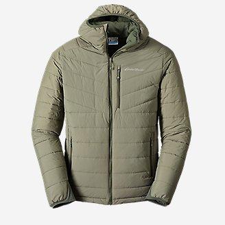 Men's IgniteLite Stretch Reversible Hooded Jacket in Green