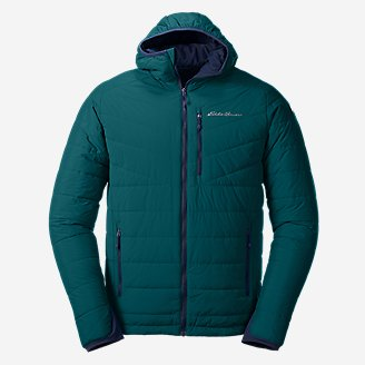 Men's IgniteLite Stretch Reversible Hooded Jacket in Blue