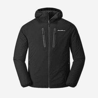 Men's EverTherm Down Stretch Hoodie in Black