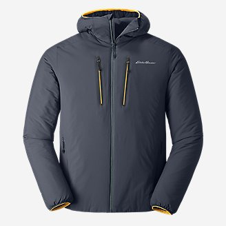 Men's EverTherm Down Stretch Hoodie in Blue