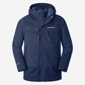 Men's Storm Ops Parka in Blue