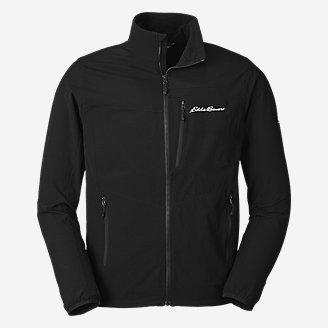 Men's Sandstone Backbone Jacket in Black