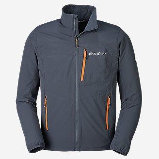 Men's Sandstone Backbone Jacket in Blue