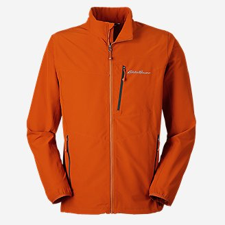 Men's Sandstone Backbone Jacket in Orange