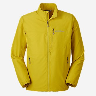 Men's Sandstone Backbone Jacket in Green