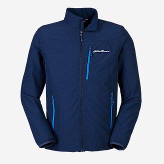 Men's Sandstone Backbone Jacket in Blue